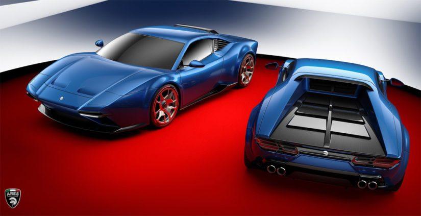 Auto on parhaillaan muotoilun, aerodynamiikan sekä törmäystestien arviointivaiheessa.