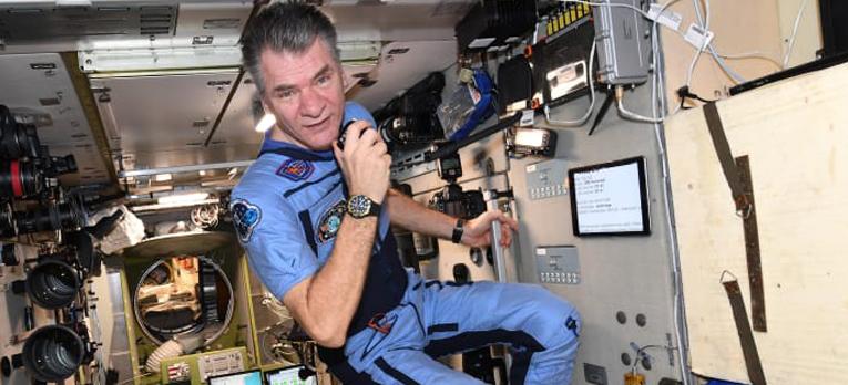 Heurekan avaruuspäivässä otetaan suora videopuhelu italialaiseen avaruuslentäjään Paolo Nespoliin.