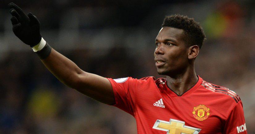 Paul Pogba on pelannut kuluvalla kaudella ailahtelevaisesti Manchester Unitedissa.