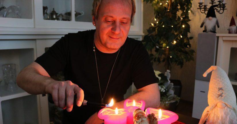 Pauli Kärki sanoo olevansa jokaista solua myöten joulumies. – On ihanaa, kun voi täysillä heittäytyä joulufiiliksen vietäväksi.