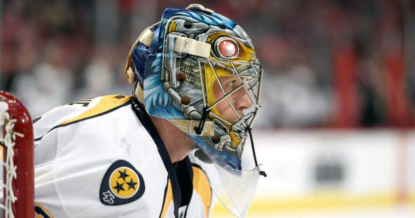 Pekka Rinne on torjunut Nashville Predatorsin ykkösmaalivahtina vuosien ajan. (Kuva: AOP)