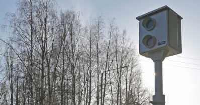 Nopeusvalvontakamera räjäytettiin aamuyöllä – jo toinen kerta samassa paikassa