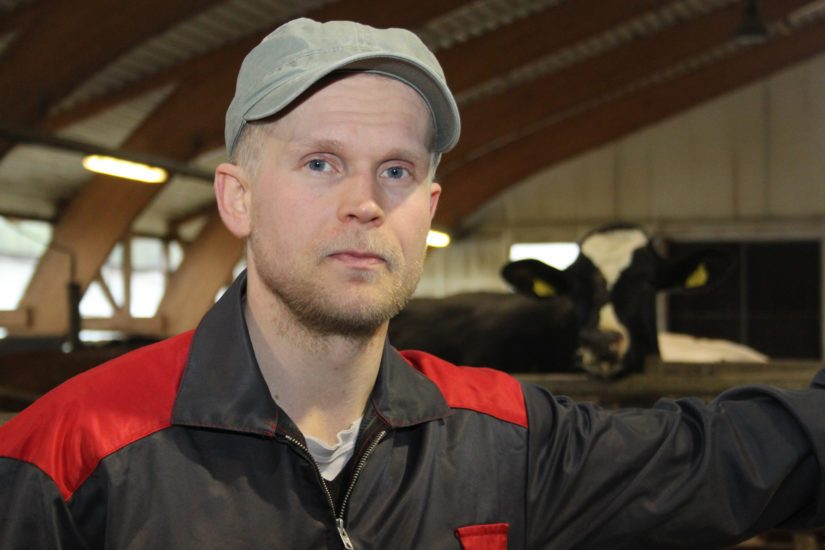 Perttu Sirviö toimii myös MTK-Iisalmen puheenjohtajana. – Maidontuotannon tärkeimpiin pelastusrenkaisiin kuuluu myös byrokratian purkaminen.