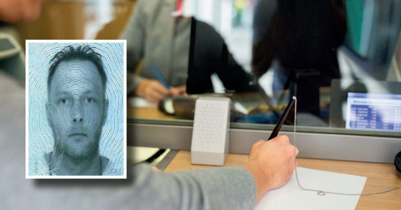 Asianomistajan tiedoilla on valmistettu suomalainen henkilökortti, johon on laitettu petollisesti pankeissa asioineen henkilön valokuva.