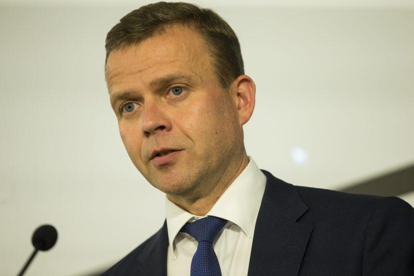 Liikenneministerin sijaan veroista vastaa valtiovarainministeri Petteri Orpo.