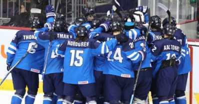Pikkuleijonat taisteli tiensä jääkiekon MM-finaaliin – Ruotsi jäi nollille välieräottelussa!