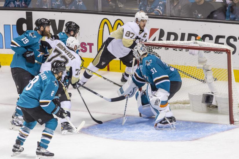 Penguins ja Sharks kohtasivat viimeksi 12. kesäkuuta. (Kuva AOP)