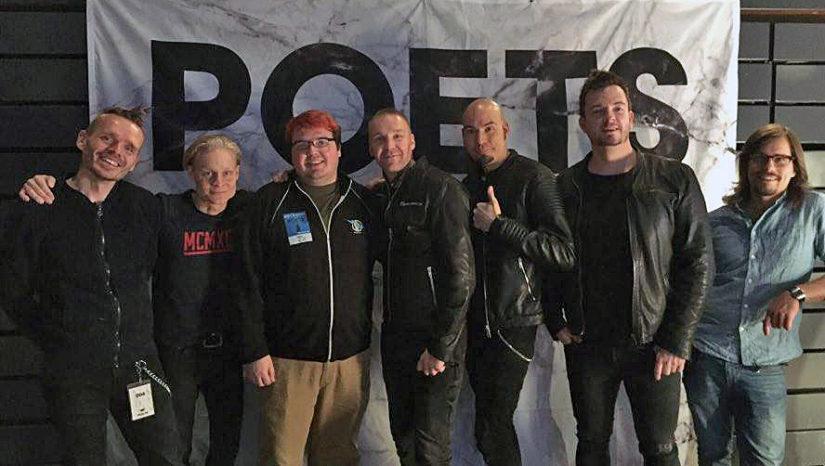 Yksi konsertin hienouksia oli bändin tapaaminen Meet & Greet -tapahtumassa. (Kuva Markus Azeltine)