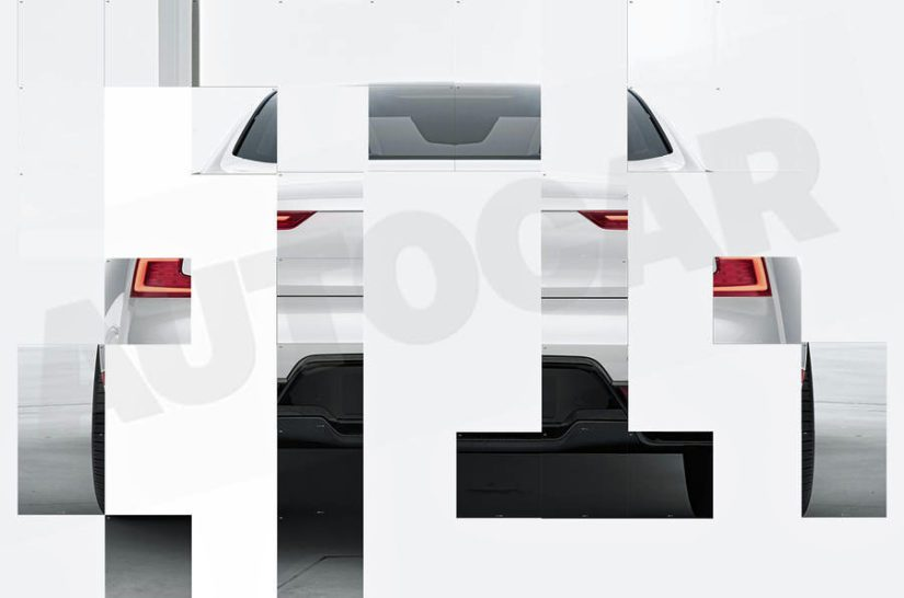 Kun kuvat yhdistää, auton peräpään linjat käyvät jo varsin hyvin ilmi.