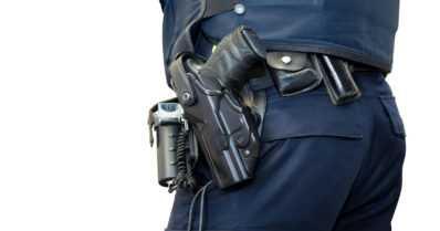 Poliisiaseman tiloissa harjoiteltiin voimankäyttöä – konstaapeli sai ampumavamman käteensä