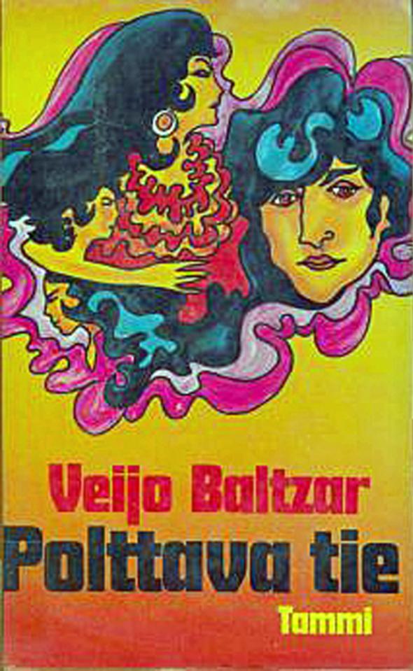 """Veijo Baltzarin esikoisteos vuonna 1968 oli kriitikoidenkin kiittämä """"Polttava tie""""."""