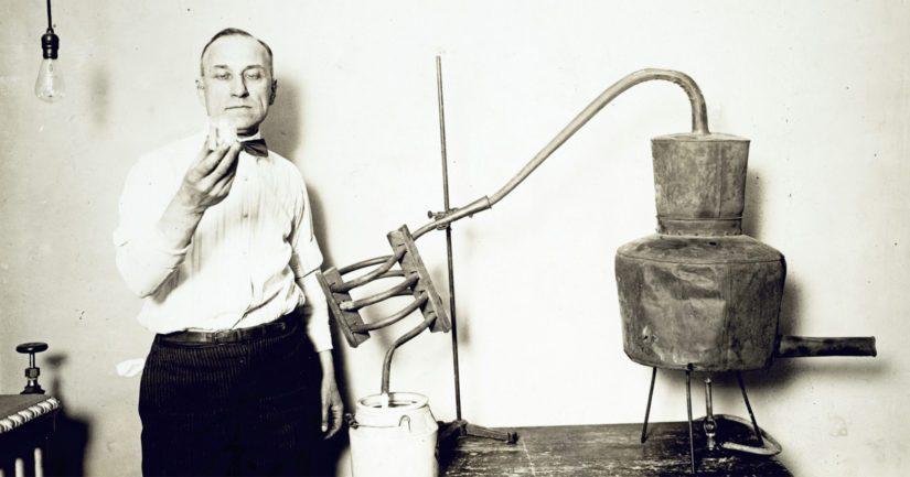 Pontikankeiton jalo taito hallittiin jo esimerkiksi 1920-luvulla.