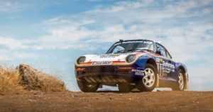 Pariisi-Dakar-rallissa kilpailleen Porsce 959:n hinta kohosi – lähes kuuteen miljoonaan dollariin