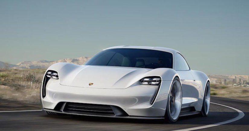 Porsche Missio E -sähköauton myyntimalli nähdään kaupoissa vuonna 2019.