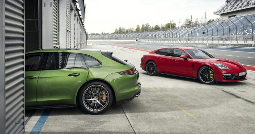 Ulkoa GTS:n tunnistaa mustilla tehosteilla varustetusta Sport Design -muotoilupaketista.