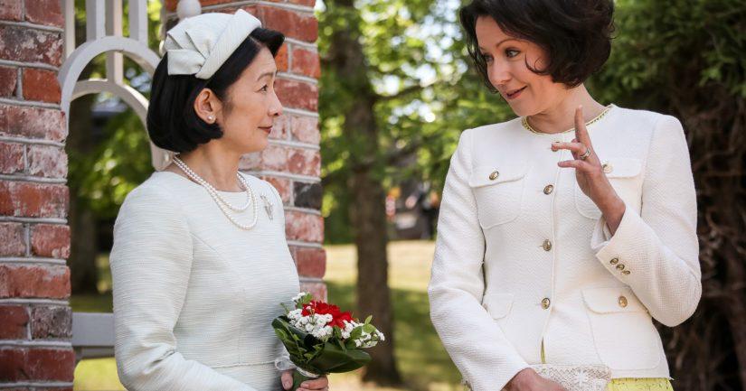 Kruununprinsessa Kiko tapasi kesällä rouva Jenni Haukion Suomessa.