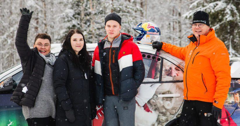 Rovaniemeläisessä perheessä rallit ovat olleet sirkushuvia siitä saakka, kun Tarja-äiti ja Jussi-isä hurahtivat Tunturirallin tunnelmasta.