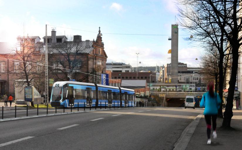 Raitolinja kulkisi Tampereen keskustasta muun muassa sairaalaan ja Hervantaan. (Kuva Tampereen kaupunki)