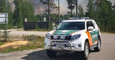 Metsäpaloja Lapissa rajan lähistöllä – palo on levinnyt valtakunnanrajan yli Venäjältä