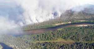 Venäjältä Suomeen levinneet metsäpalot on saatu sammutettua – kansallispuistossa kytee vielä