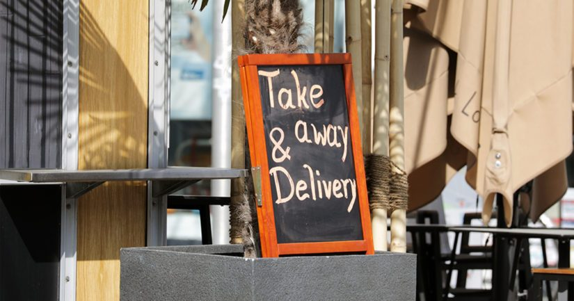 Ravintolat ja kahvilat voivat sulun aikana myydä noutoannoksia suoraan tai toimittaa niitä asiakkaille.