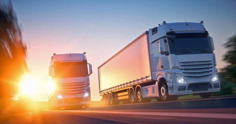 Pitkien etäisyyksien Suomessa valtaosa yritysten tavaravirroista kulkee maanteillä.