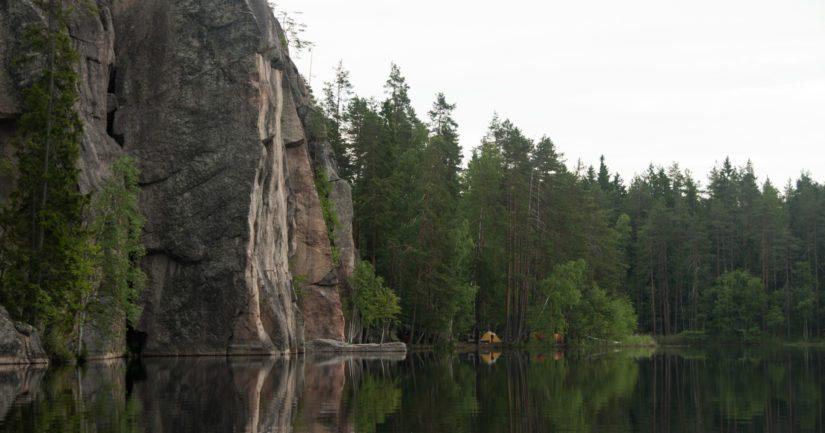 Kaakkois-Suomessa Repovedellä sattui vaaratilanne kansallispuistoon johtavalla reitillä.