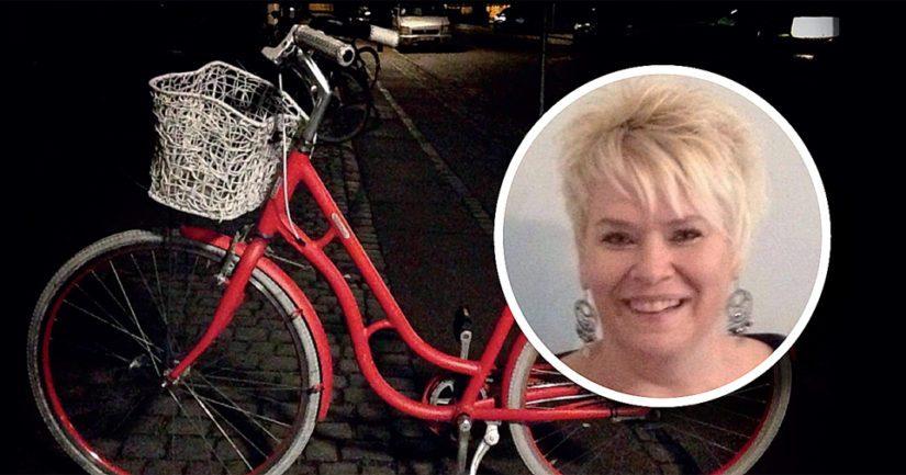 Kadonnut on poistunut asunnolta todennäköisesti punaisella naisten polkupyörällä.