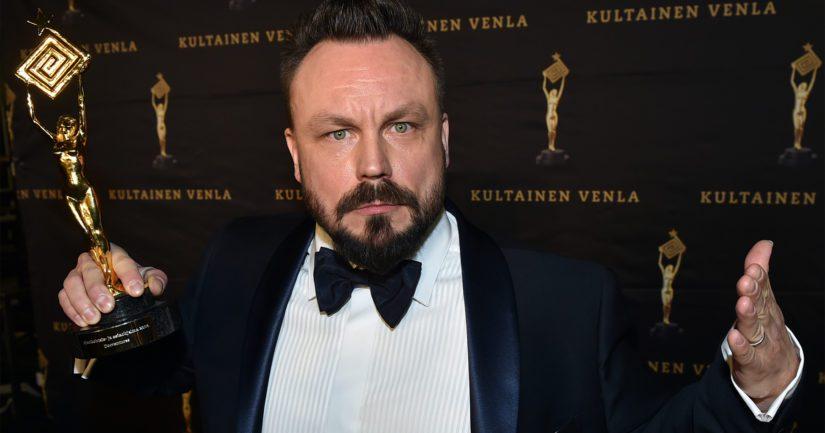 Televisiokasvo Riku Rantala on pokannut myös Kultainen Venla -palkinnon parhaana miesesiintyjänä.