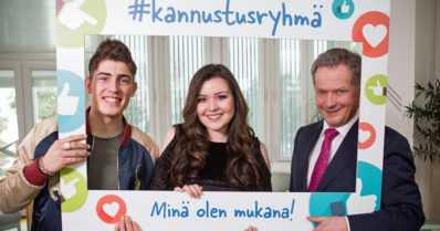 Video: Sauli Niinistö, Diandra ja Robin kampanjoivat kiusaamista vastaan