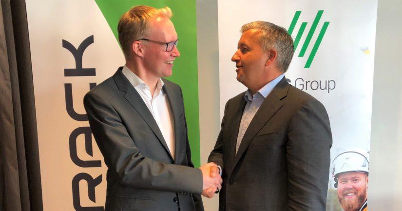VR Trackin Rolf Jansson ja NRC Groupin Øivind Horpestad uskovat uuden yhtiön mahdollisuuksiin