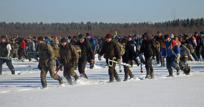 Edellisen kerran SM-pilkki kilpailtiin Pohjois-Pohjanmaan alueella Oulussa Kuivasmerellä vuonna 2010.