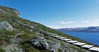 Saana-tunturin portaat puretaan – Suomen pisimmissä portaissa on 740 askelmaa