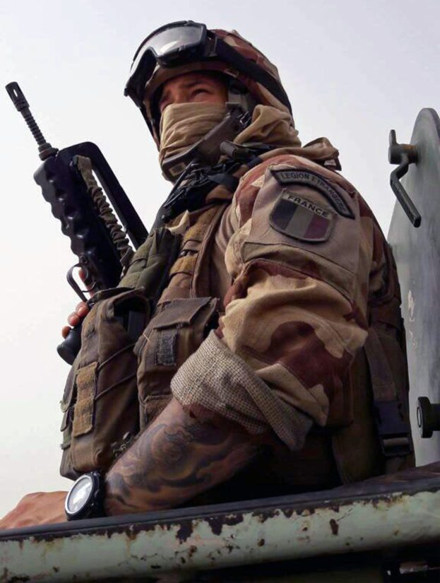 Sakke on parhaillaan viimeisessä seikkailussaan, komennuksella Ranskan Guyanassa.