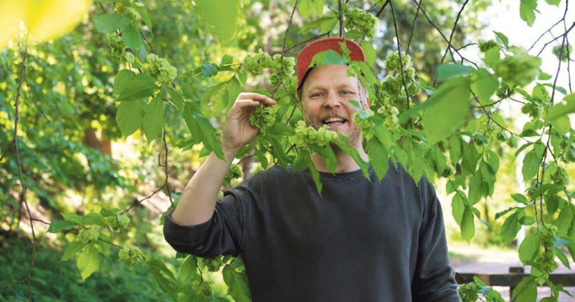 Sami Tallberg viettää luonnossa aikaa lähes joka päivä.