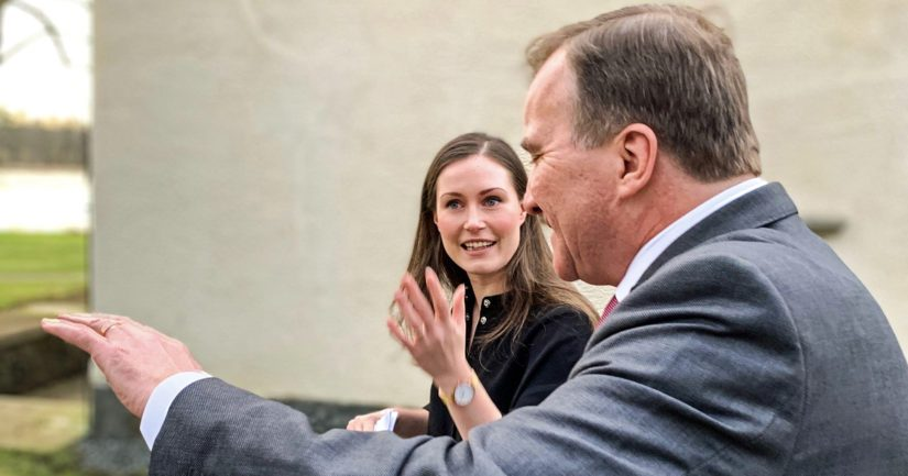 Pääministeri Sanna Marin tapasi Ruotsin pääministerin Stefan Löfvenin.