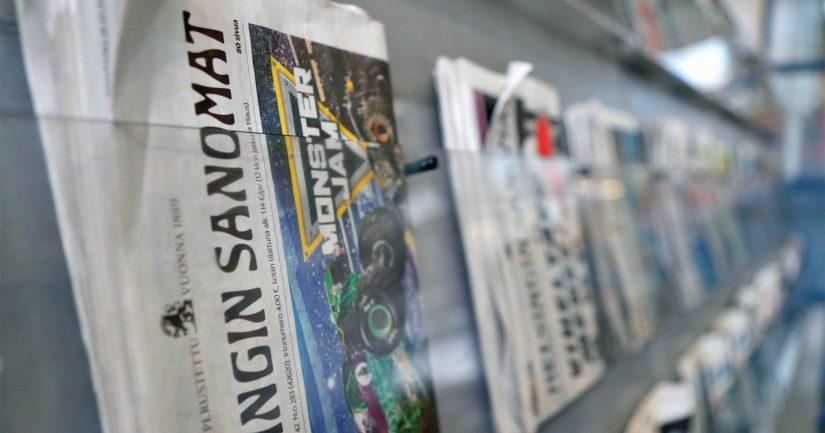 Helsingin Sanomien uutisoinnin arvioi 65 prosenttia vastaajista olevan luotettavaa.