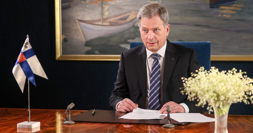 Tasavallan presidentti Sauli Niinistön uudenvuodenpuhe