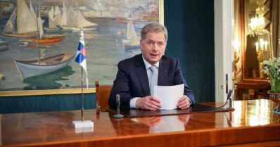 """Tasavallan presidentti Sauli Niinistö – """"Vihanpidosta on myös tie yhteiseen tulevaisuuteen"""""""