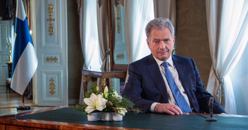Tasavallan presidentti Sauli Niinistö sanoo, että tarvitsemme enemmän rauhaa, vakautta ja pitkäjänteisyyttä.