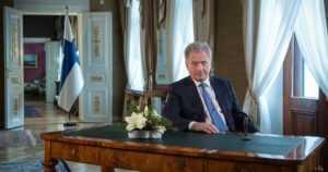 """Tasavallan presidentti Sauli Niinistön uudenvuodenpuhe – """"Ilman vastuuta ei ylläpidetä oikeuksiakaan"""""""