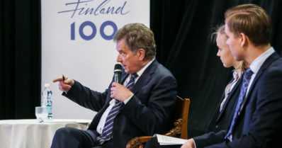"""Presidentti Niinistö maakuntamatkalla – """"Emme aina muista kuinka hyvin asiat ovat täällä"""""""