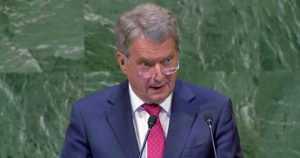 """Presidentti Niinistö YK:n yleisistunnossa New Yorkissa – """"Yksikin seksuaalinen hyväksikäyttötapaus on liikaa"""""""