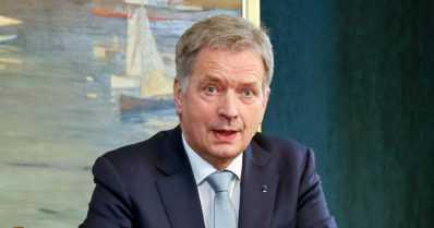 """Presidentti Sauli Niinistö – """"Sodan muiston kunnioittaminen ei tarkoita samaa kuin sodan ihannointi"""""""