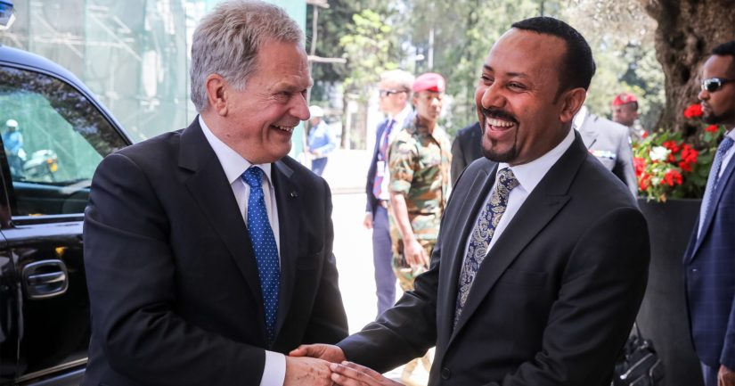 Pääministeri Abiy Ahmedin palkittiin Nobelin rauhanpalkinnolla viime viikolla.