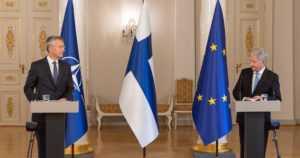 """Presidentti Niinistö tapasi Naton pääsihteerin – """"Väliltämme löytyy yhteistä ymmärrystä"""""""