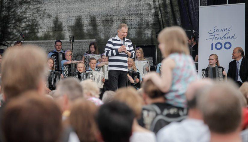 – Suomi on maailman vakain maa. Se on paljon tällaisella epävakauden aikakaudella, presidentti Niinistö kertasi Suomen menestystä.