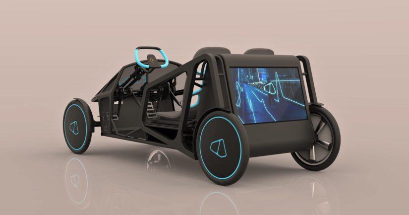 Valmet Automotive on suunnitellut ajoneuvon teknisen rakenteen sähköisestä voimansiirrosta alusta- ja korirakenteisiin.