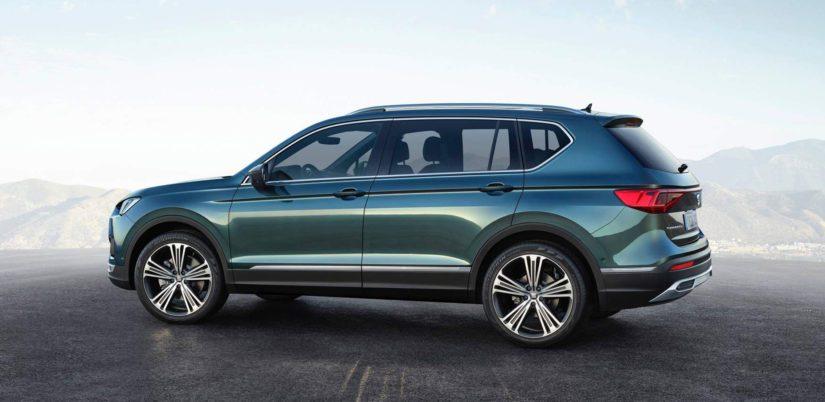 Tarkemmin katsomalla huomaa, että ovet on lainattu suoraan VW Tiguan Allspacesta.