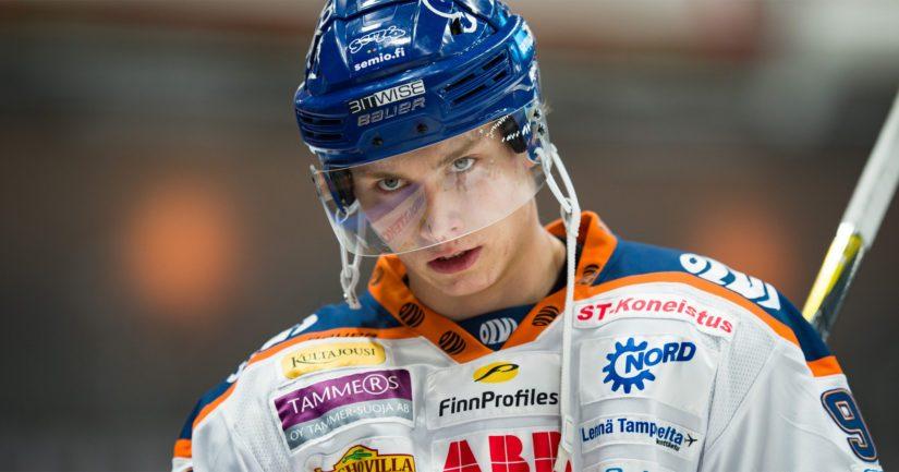 Sebastian Repo oli iso palanen Tapparan tämän kevään pudotuspeleissä.